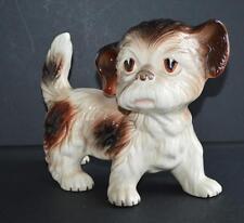 Old china / porcelain dog - Melba made in England .