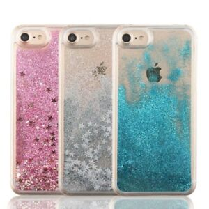 new concept d1cf6 8843a Details about Dynamic Glitter Stars Liquid Case For iPhone 5 5S SE 6 6S 7 7  Plus