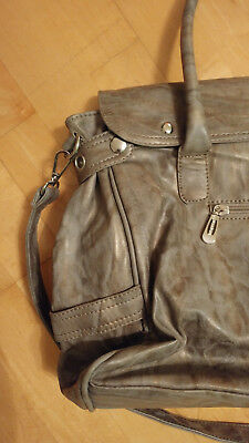 Damen Tasche in Grau melliert, one Size neu