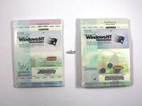 Microsoft Windows Nt 4 Workstation, Deutsch, Vollständig - Neu