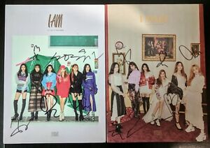 G-I-DLE-GIDLE-ALL-MEMBER-Signed-Album-I-AM-I-MADE-Mwave-autograph-US-Seller