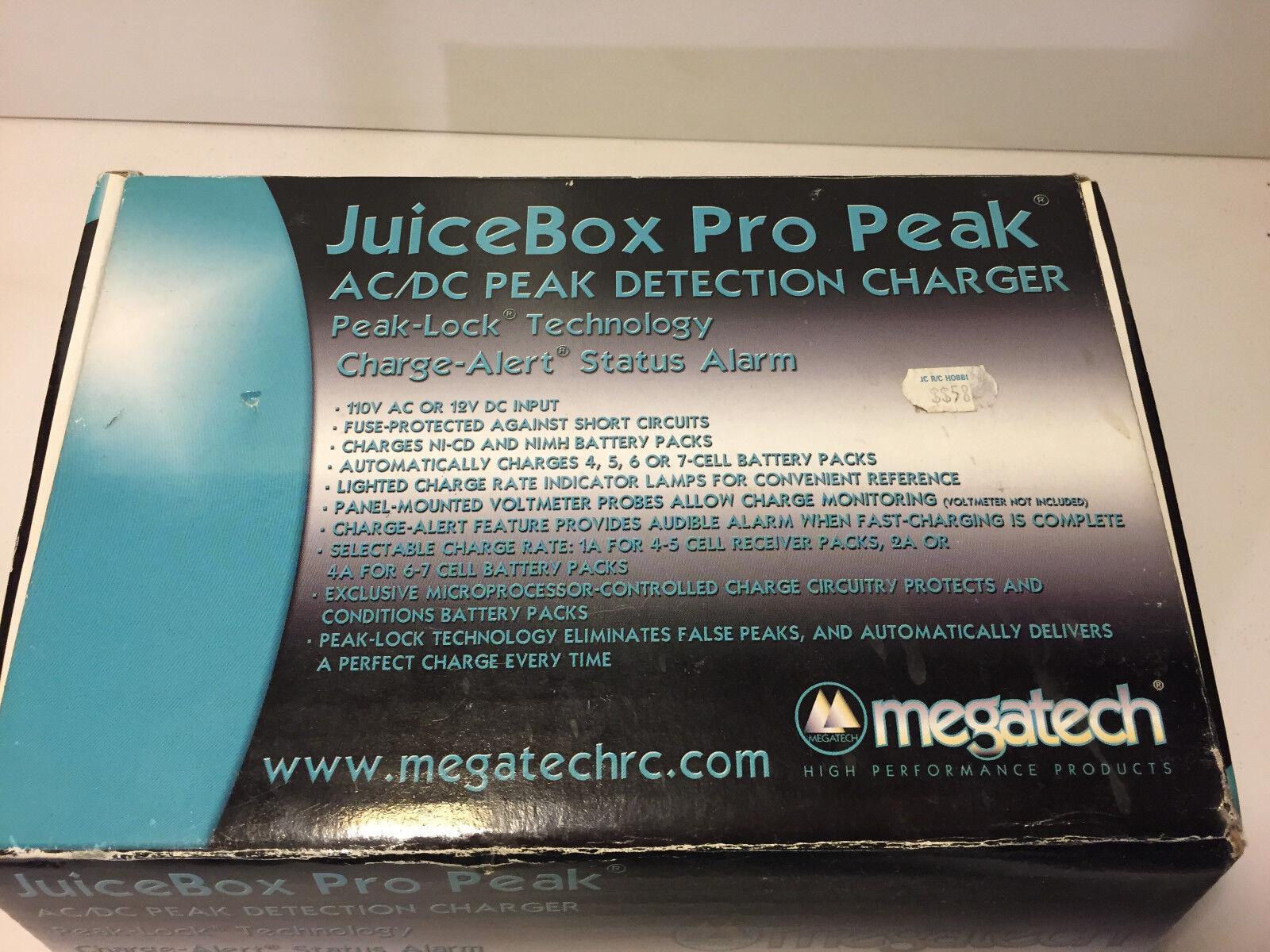 vendita di offerte Megatech    JUICEscatola PRO Peak AC DC DETECTION CHARGER nuovo  vendita outlet online