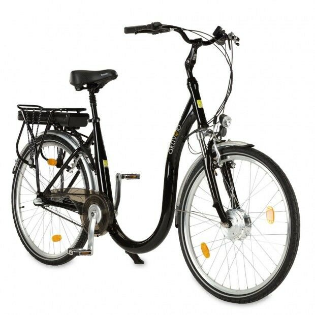 E-Bike Elektrofahrrad Tiefeinsteiger-Fahrrad Senioren Tiefeinstieg Alu Pedelec