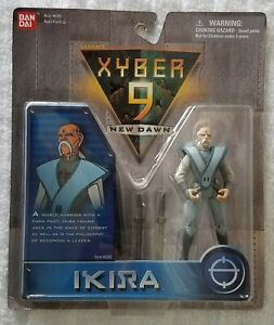 XYBER-9-NEW-DAWN-IKIRA-4-INCH-ACTION-SOLDIER-BANDAI-1999