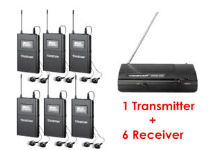 Takstar-WPM-200-Wireless-Monitor-System-1-Transmitter-6-Receivers-In-Ear-Stage