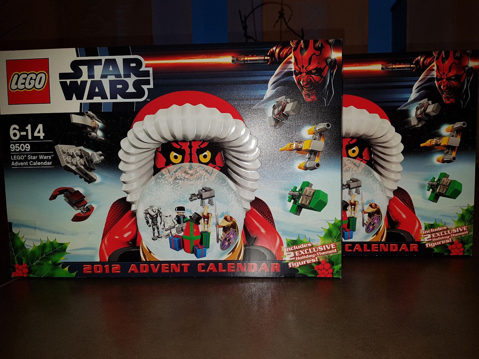 2 St. Lego Star Wars Adventskalender 9509 NEU OVP