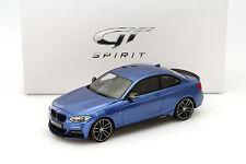 BMW M235i M Performance Baujahr 2015 blau 1:18 GT-SPIRIT