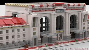 Details about Lego Train Station MOC - Buliding Instructions