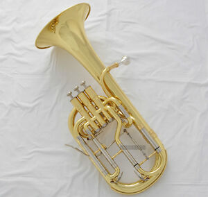 High-grade-New-Gold-Alto-Horn-Eb-Keys-3-Piston-Tuning-Slide-Trigger-With-Case