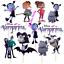 VAMPIRINA-CUPCAKE-CAKE-TOPPER-DECORATION-PARTY-SUPPLIES-BALLOON-BANNER-TOPPERS thumbnail 1