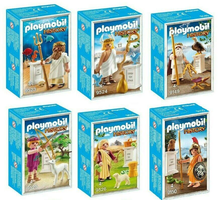 al prezzo più basso Playmobil tutti Greek Gods Sets Sets Sets 9149 9150 9523 9524 9525 9526 nuovo WITH scatola  buon prezzo