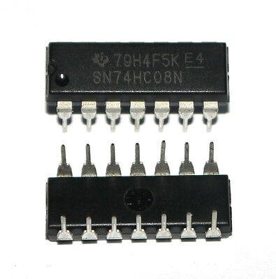 10x 74HC08N DIP-14 74HC08 Quad 2-input AND gate IC Better Quality