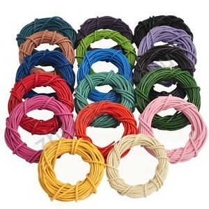 Wholesale-5-M-Colorful-Real-Leather-Cord-String-For-Bracelet-Necklace-1-5-2-0-mm