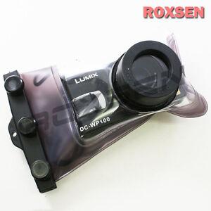 Nereus Wp-100 20m Funda Impermeable Para Canon Ixus 90 80 Nikon L12 Fujifilm A340