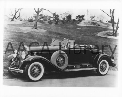 Factory Photo Ref. # 29865 1931 Cadillac Series 4542A V16 roadster