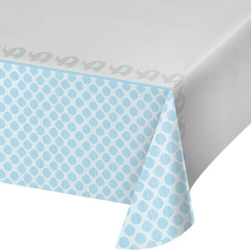 BABY SHOWER Little Peanut Boy PLASTIC TABLE COVER ~ Party Supplies Cloth Decor