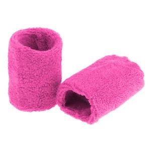 2Pcs-Gym-Unisex-Sports-Cotton-Sweat-Band-Sweatband-Wristband-Wrist-Band