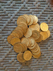 Details About One Roll 44 Coins 83 5 Silver Swiss Franc 1960 1966 Switzerland