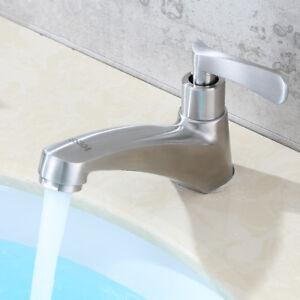 304 Edelstahl Kaltwasser Armatur Waschtisch Waschbecken Badezimmer ...
