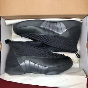 67622adb175 2007 Nike Air Jordan XV 15 Retro BLACK VARSITY RED GREY BRED 317111 ...