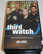 THIRD WATCH, Official Emmy 2 VHS VIDEO SET - 3 eps. Season 3 +IN THEIR OWN WORDS