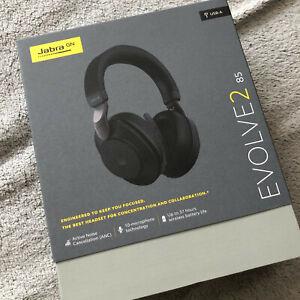 Jabra-Evolve2-85-Bluetooth-Noise-Cancelling-Headphones-New
