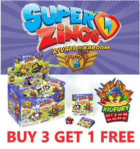 SUPERZINGS-NEW-SERIES-5-KID-FURY-GOLD-SILVER-PICK-YOUR-OWN-BUY-3-GET-1-FREE