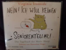 V. Ironside – Nein! Ich Will Keinen Seniorenteller! -Tagebuch Marie Sharp -4CDs