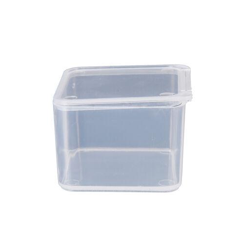 New Small Travel Clear CG Transparent Storage Box Case PU Superhard Plastic YL