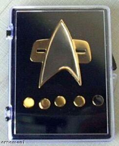 STAR-TREK-DS9-Voyager-Communicator-Pin-Set-new