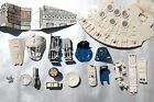VINTAGE STAR WARS MILLENNIUM FALCON PARTS KENNER screws panel table seat ramp