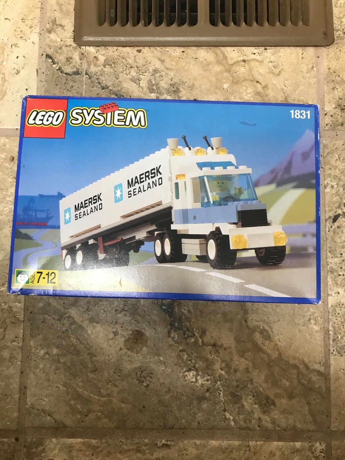 Lego Town Classic Town CARGO 1831 Maersk Sealand Container NEW NEW NEW BROKEN SEAL ed8439