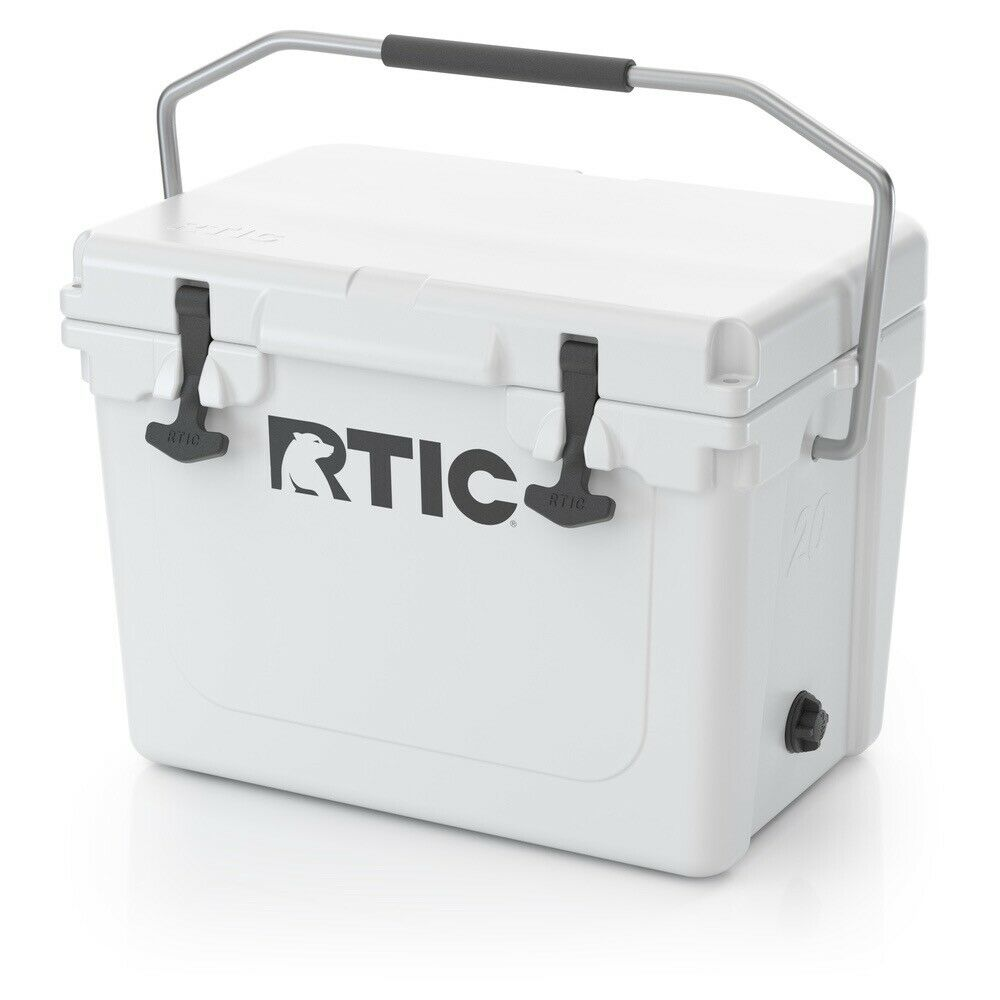 RTIC 20 - Beer Bottle Storage Cooler NEW 2019 DESIGN  - WHITE  - Free Shipping