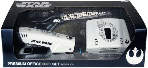 Stapler Scissors STAR WARS Premium Office Gift Set Rebellion Puncher