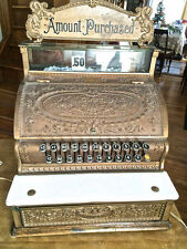 Brass National Cash Register from Col. Gil's Collection