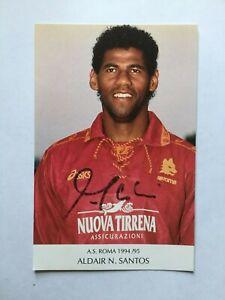 Autogramm ALDAIR-AS Rom/Italien-NS BRASILIEN-Ex-Benfica/Genoa/Murata-WM 1994-AK