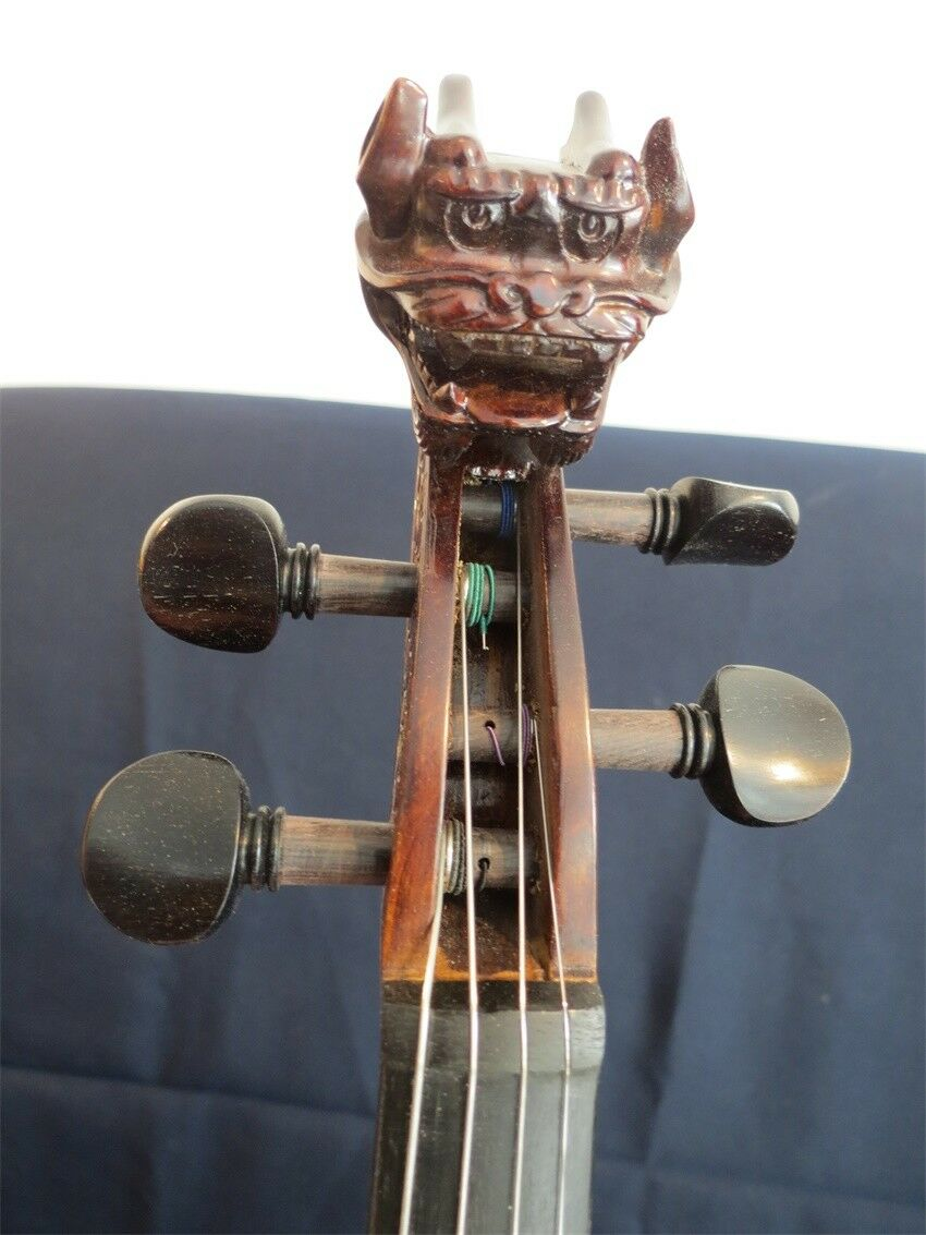 Strad Estilo Estilo Estilo Violín de desplazamiento Dragón maestro de profesión de la canción de concierto 4 4  12382 2c030c