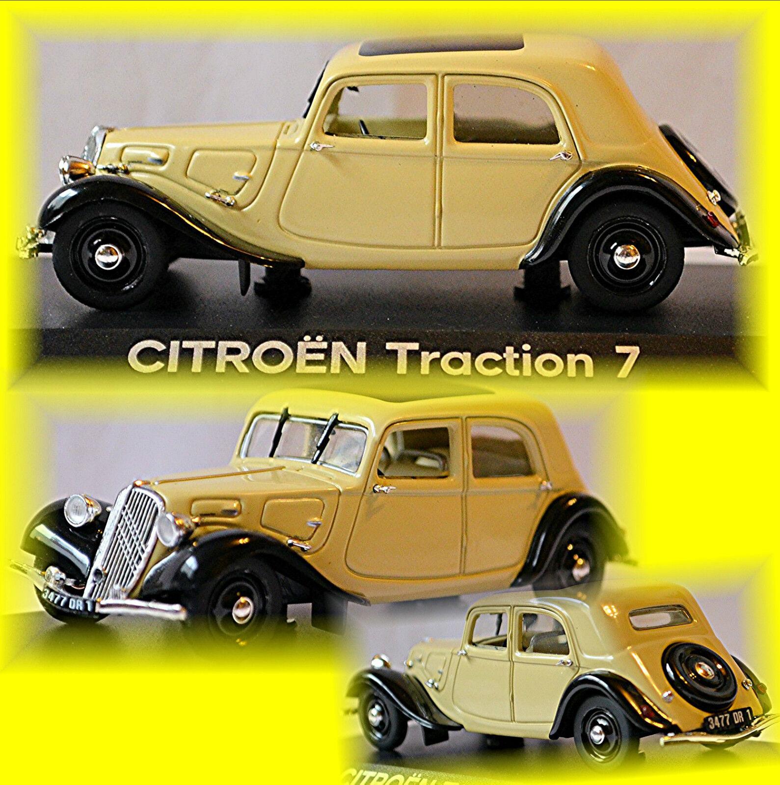 omaggi allo stadio Citroen Trazione 7C 7C 7C 1934-41 Crema 1 43 Norev  distribuzione globale