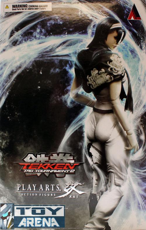 Tekken tag tournament 2 jun kazama spielen kunst kai actionfigur square enix