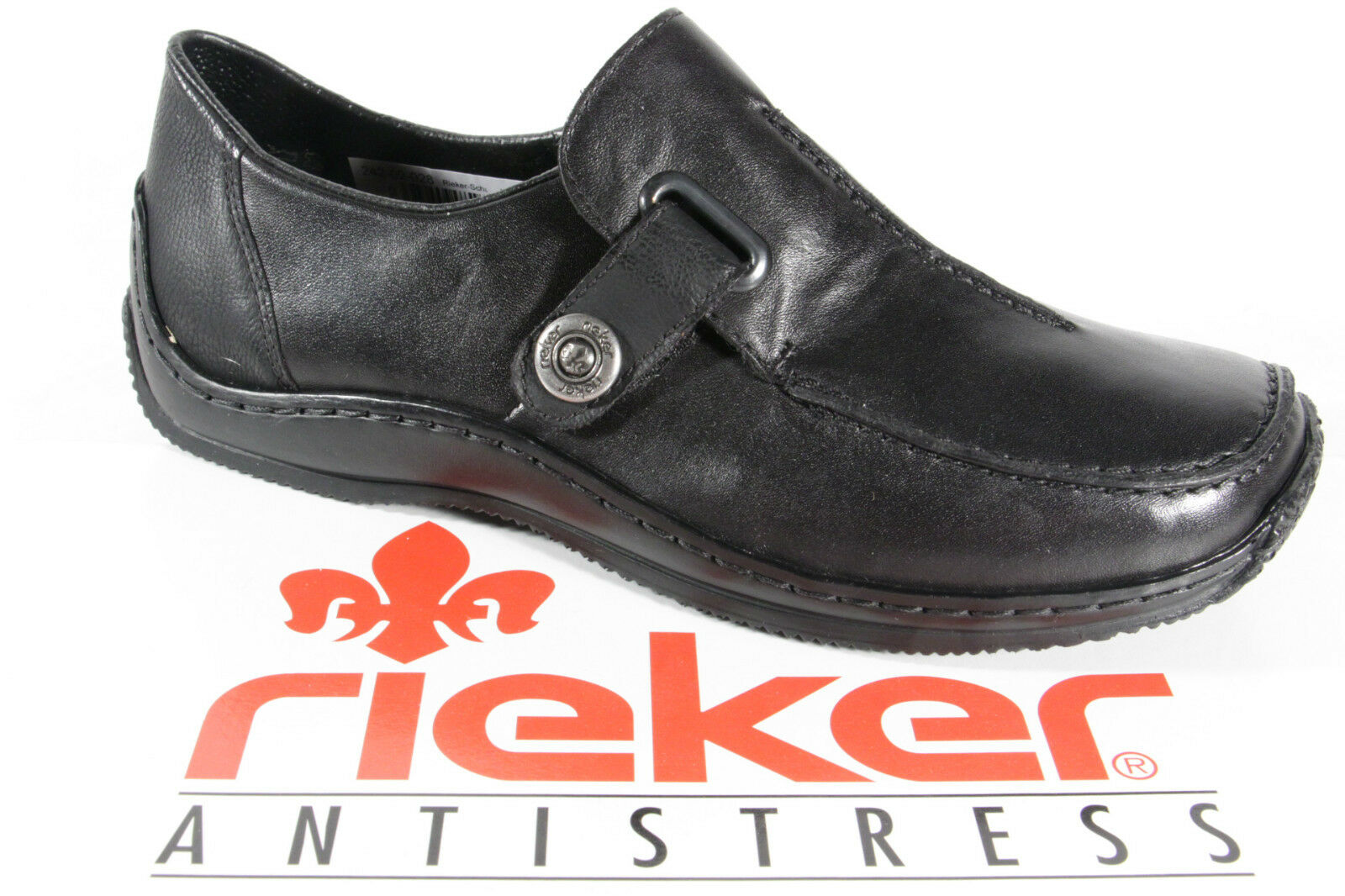 Rieker Slipper Halbschuhe Sneakers Ballerina Sportschuhe schwarz Neu Leder L1753 Neu schwarz 78bd62