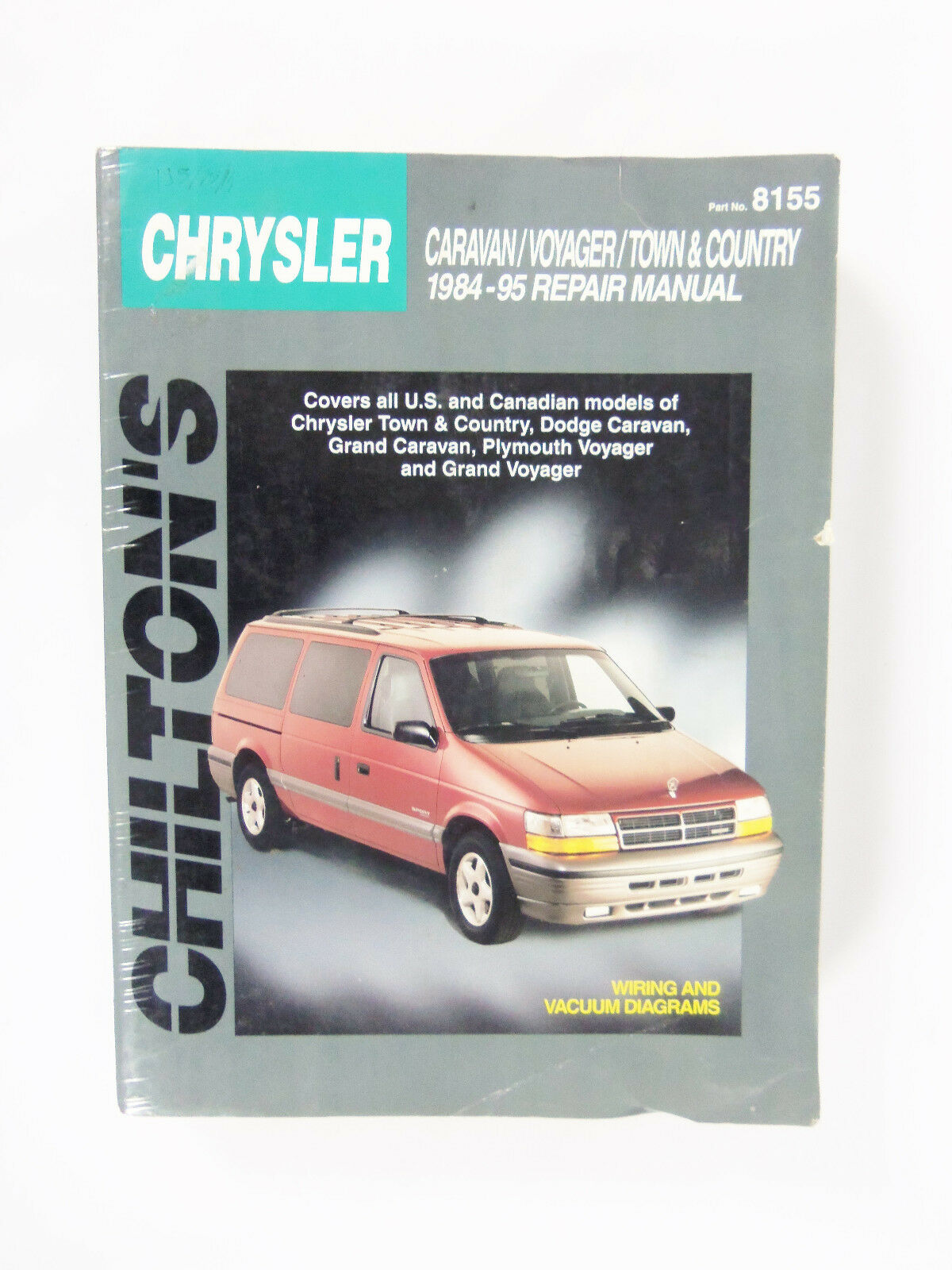 Total Car Care Repair Manuals: Dodge Caravan, Voyager, and Town and Country,  1984-95 by Chilton Automotive Editorial Staff (1998, Paperback) | eBay