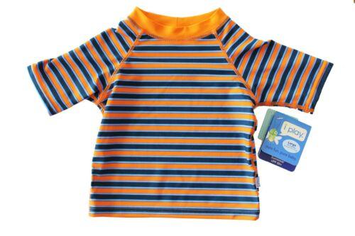 NEW Iplay I Play Baby Boy/'s Swim Swimming Shirt Rashguard 18M 18 M UPF 50+