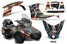 AMR Racing Can Am BRP RT-S Spyder Full Trim Kit Wrap Roadster Decals 2014+ WW2