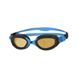 Zoggs-Adult-Predator-Flex-Polarized-Ultra-2-0-Goggles-in-Black-Blue