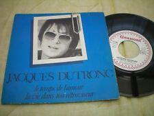 Jacques Dutronc - le temps de l'amour - la vie dans ton rétroviseur 1981 FRANCE