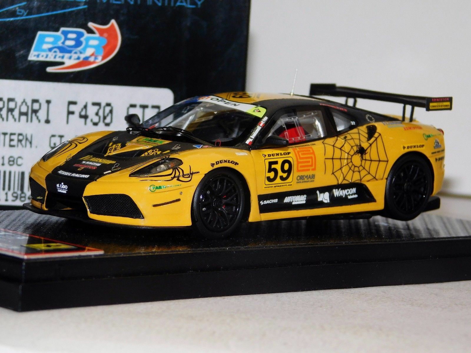 FERRARI F430 GT3 INTERNATIONAL GT OPEN 2009 BBR BBRC18C LIM. 210 PCS 1 43