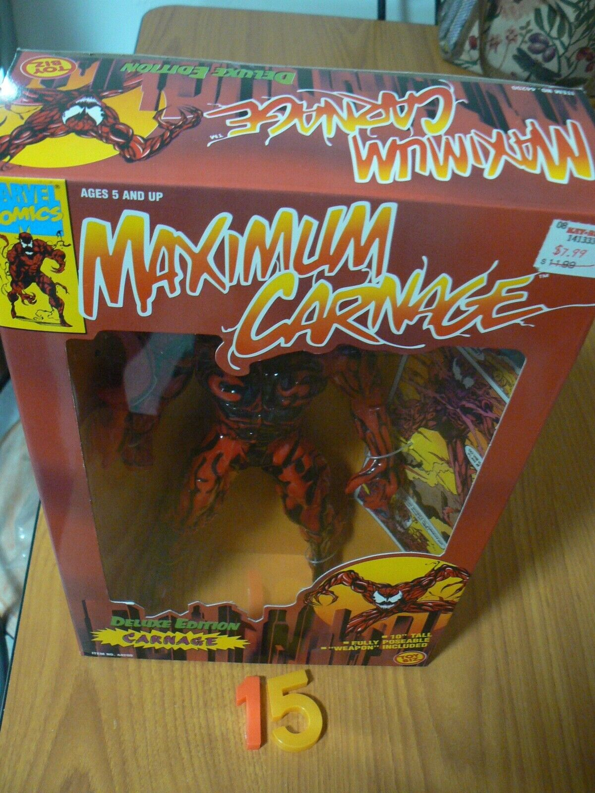 Spiderman Deluxe Sdition Action Figure 10  1994