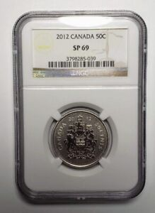 2012 Canada 50 Cents Coin NGC SP 69