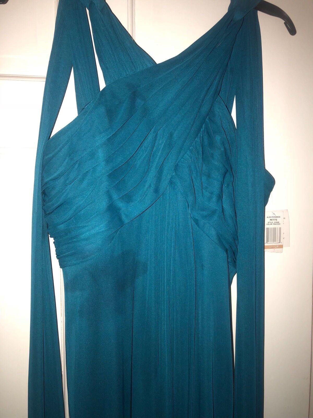 NWT Alex Evenings Gown Größe 12p