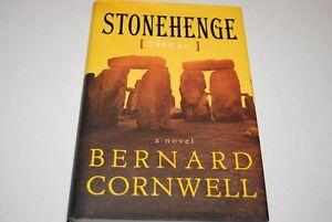 Stonehenge-2000-BC-by-Bernard-Cornwell-Hardcover-1st-1st